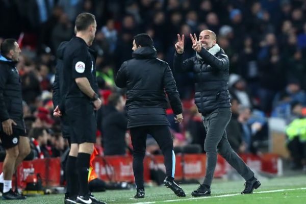 Manchester City complain to Liverpool after fans spit on staff